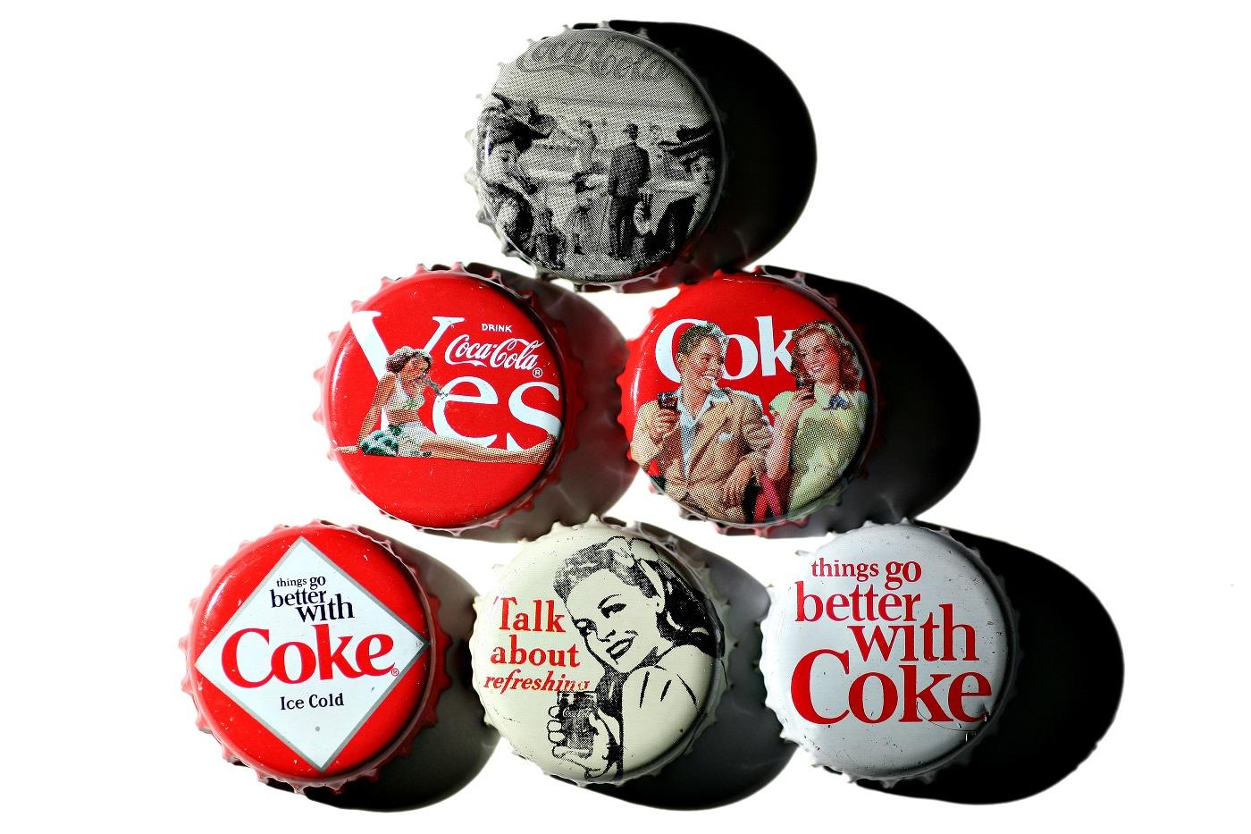 Coca Cola Vintage Flaschenverschluss