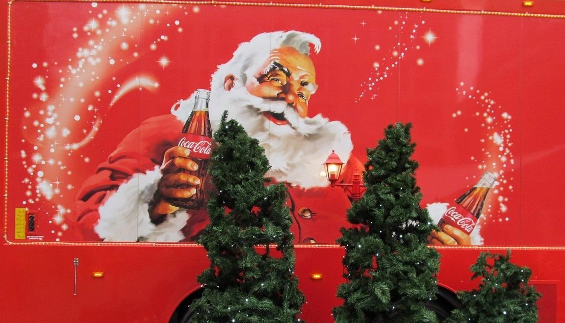 Coca-Cola-Weihnachts-Truck