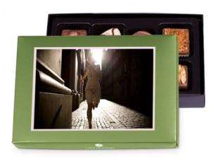 Beispiel: SchokoPostcard Mini - Screenshot aus Chocolissimo.de
