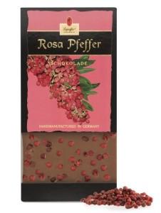 Vollmilchschokolade mit Rosa Pfeffer